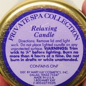 Mary Kay Accents - Mary Kay Relaxing Candle